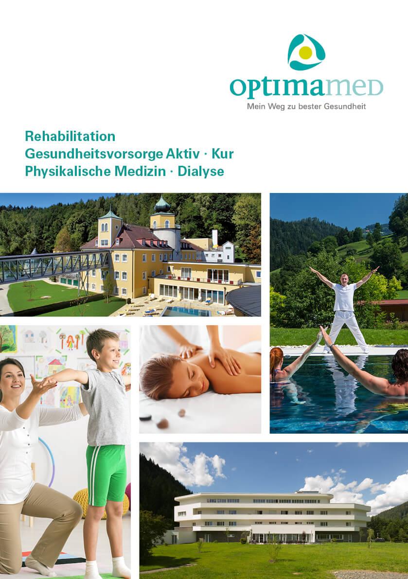 Folder Infos PDF OptimaMed Österreich