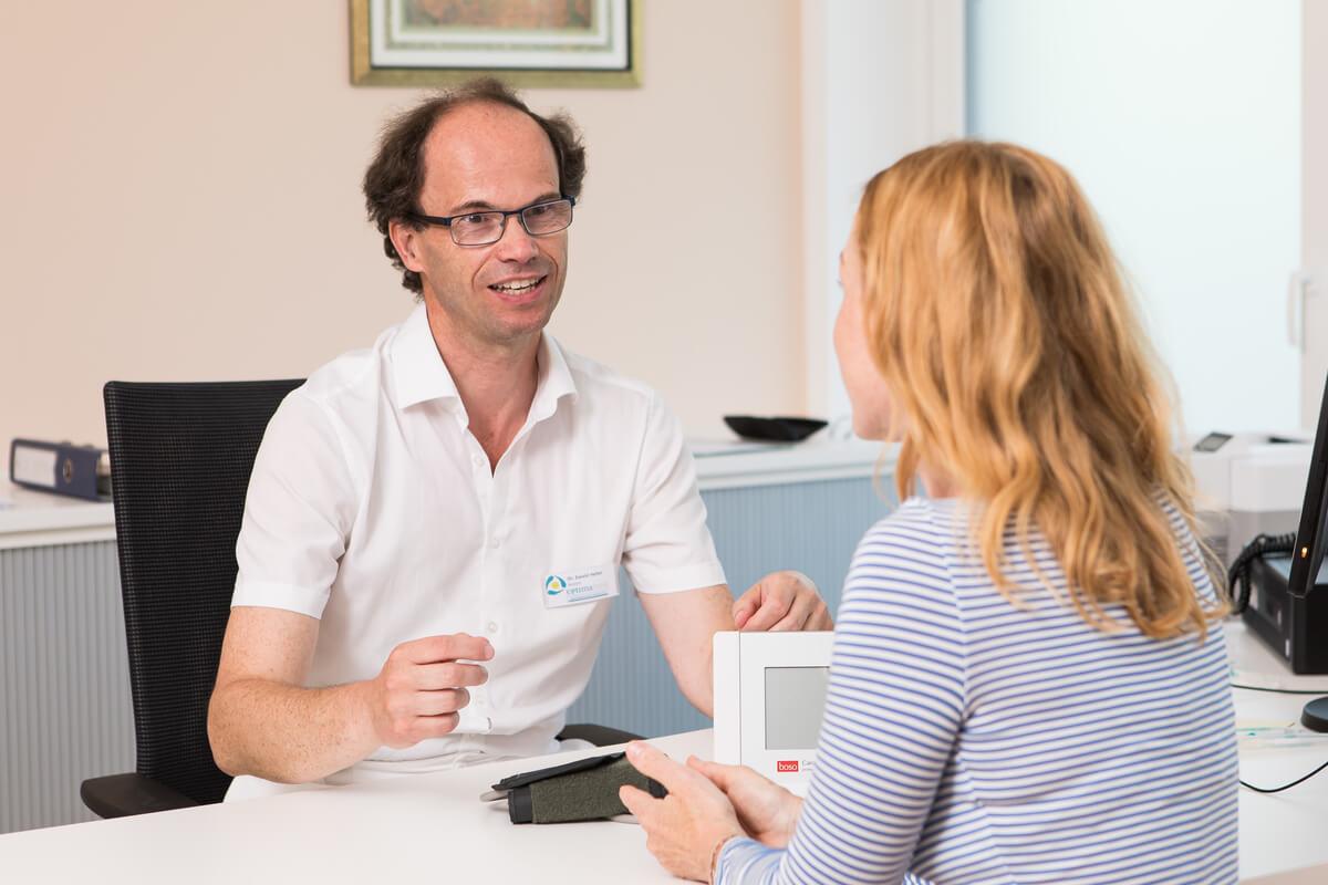 Arztgespräch Rehabilitation Patienten